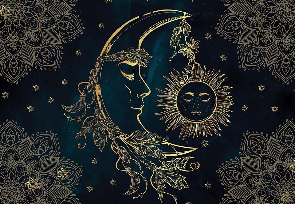 Trabalho sobre o sol e a lua na maçonaria.